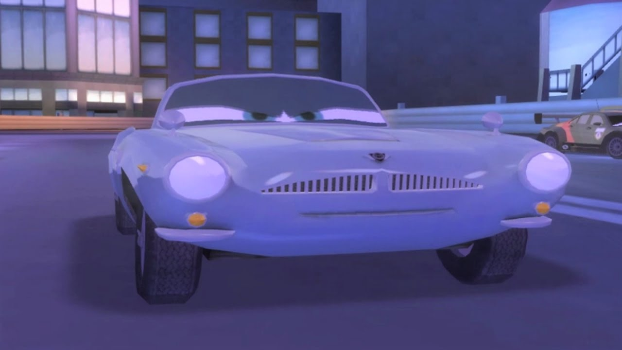 disney pixar cars 2 finn mcmissile gameplay hd  youtube