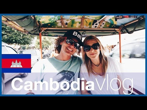 Travel Thailand Vlog 2018 - Backpacking Cambodia and getting to Siem Reap