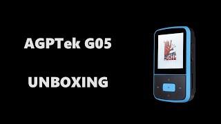 agptek g05 unboxing