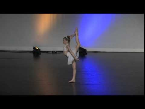 "Kylie's 10 year old Acro Solo ""Secrets"""