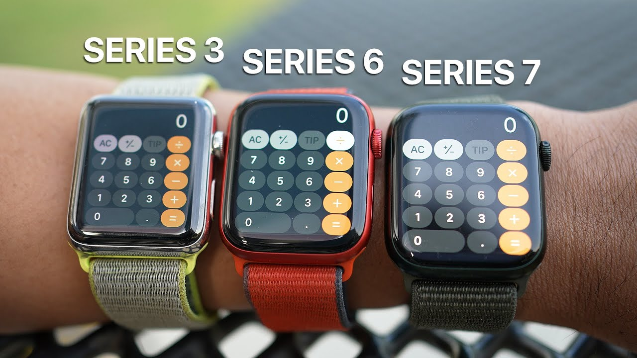 Download Apple Watch Series 7 Review: Series 3 vs Series 6 vs Series 7! Should You Upgrade?