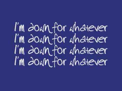 Kelly Rowland - Down For Whatever (Lyrics On Screen)