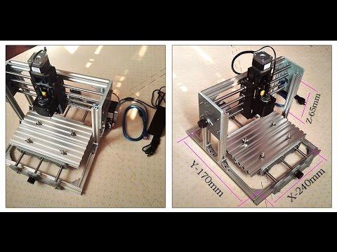 Mini CNC 2417 500mw ENG SUBS