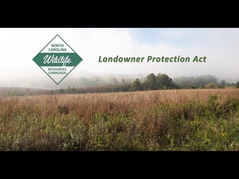 North Carolina's Landowner Protection Act Explained