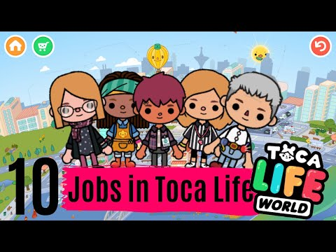 10 Jobs in Toca Life World