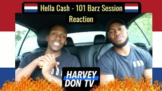 Hella Cash 101 Barz Session Reaction #harveydontv #raymanbeats