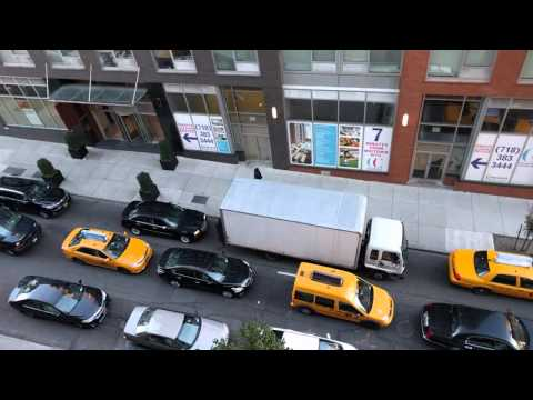 Traffic Noise on Crescent St in Long Island City, Queens, NYC
