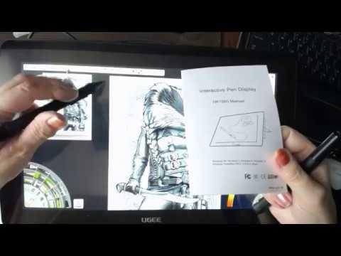Ugee Hk1560 Tablet with Artrage