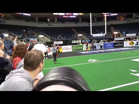 Texas Revolution touchdown!
