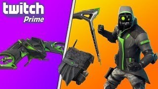 New TWITCH PRIME PACK 3 in Fortnite!! Twitch Prime Pack #3 SKINS, GLIDER, & MORE (Fortnite Leaks)