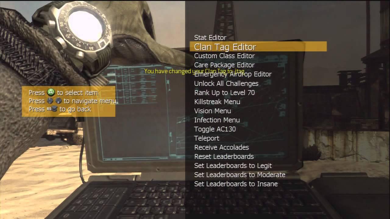 Modern warfare 2 mod menu xbox download.
