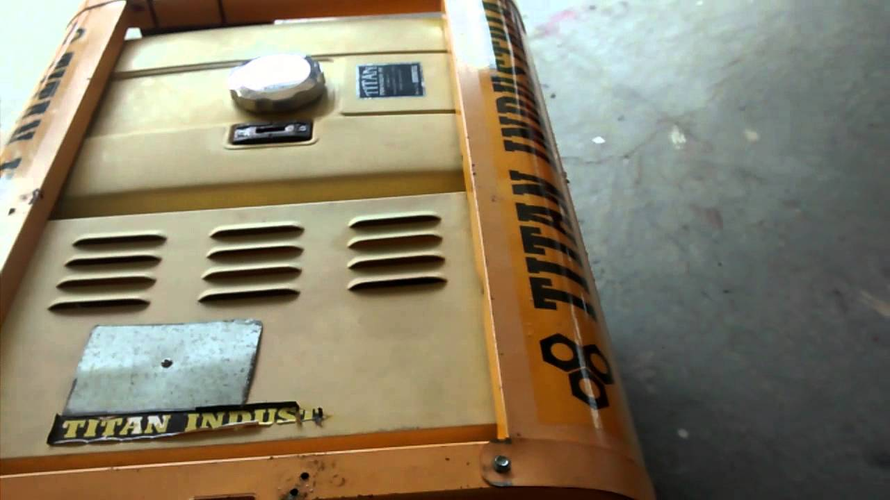 hight resolution of titan tg8000 generator mp4