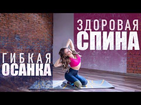 Упражнения для здоровой спины и гибкой осанки в домашних условиях | Тренировка дома для начинающих