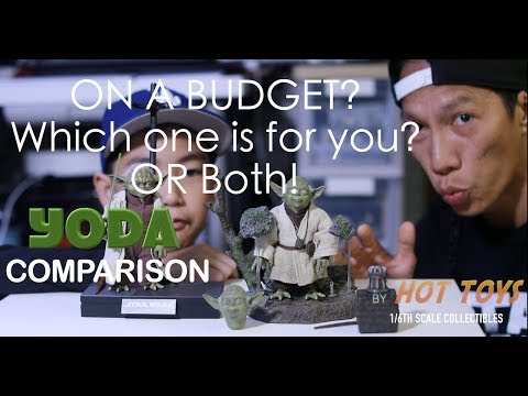 HOTTOYS |YODA COMPARISON [4K] | Which one is better ? or Bth!