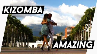 Kizomba Fusion in Caracas, Venezuela - Kristofer Mencák & Kissie Perez