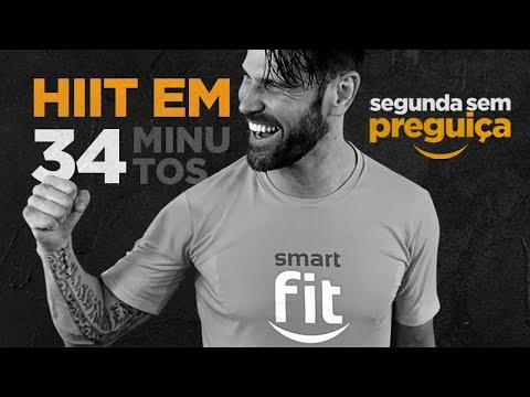 Segunda sem preguiça: HIIT em 34 minutos | Saia do sofá com a Smart Fit