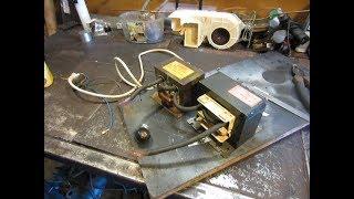 Spotter DIY  sill repair#1 Puller wyciągnie progu Stoper zgrzewarka z mikrofalówki