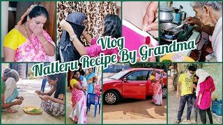 #Vlog | Avva Chesina Nalleru Recipe & Health Benefits| Nijamga Shock Ipoyanu | Fizz Ke Bye | AS😘