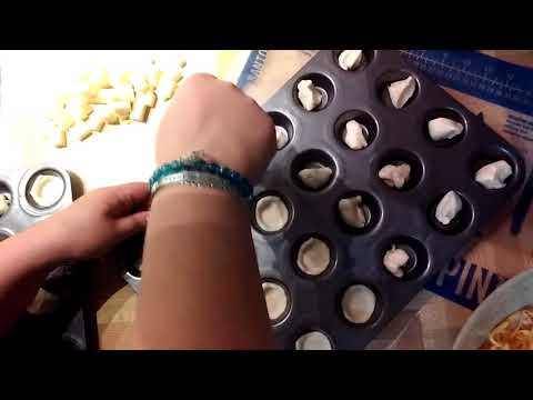 A Quick Appetizer In The Mini Muffin Tray Using The Tart Shaper