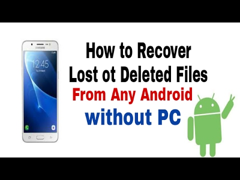 Photo video all delete file ko Recover wapas kaise laye📲