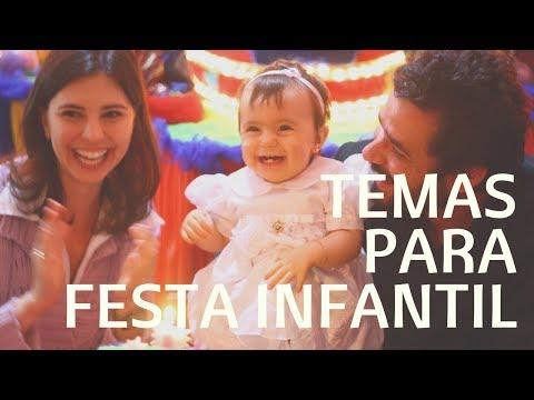 🎈 8 TEMAS DE FESTA INFANTIL - Mãe de Primeira Viagem #172