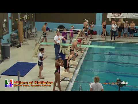 Hillers Varsity Swimming vs Holliston - 01-03-2018