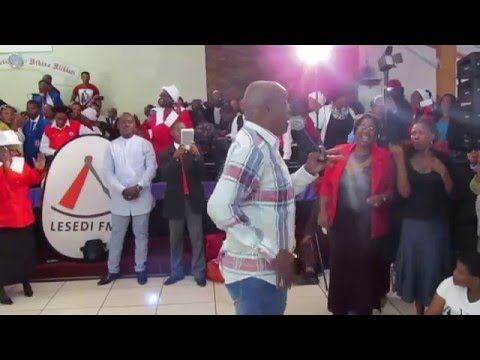 @TebohoMoloi20 performing in Welkom - 17 March 2016