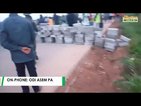 Western Togoland group block Kpong-Akosombo road