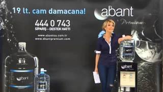 Abant Su Premium Cam Damacana Adana   Gülben Ergen Reklamı