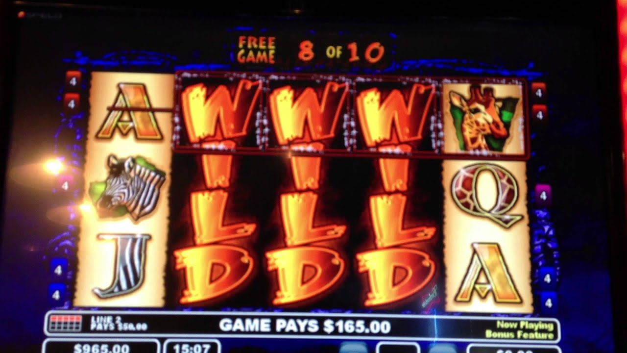video poker slot machines