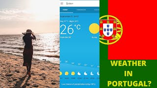 WHAT IS THE WEATHER LIKE IN PORTUGAL? What to Pack, Snow, Coldest months,Sunny + more screenshot 1