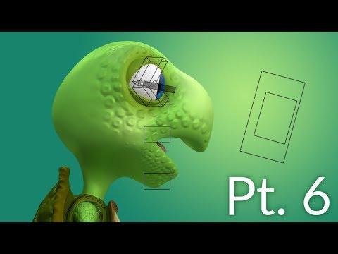 CGC Classic: Creating a Cartoon Turtle Pt. 6 - Face Rigging (Blender 2.6)