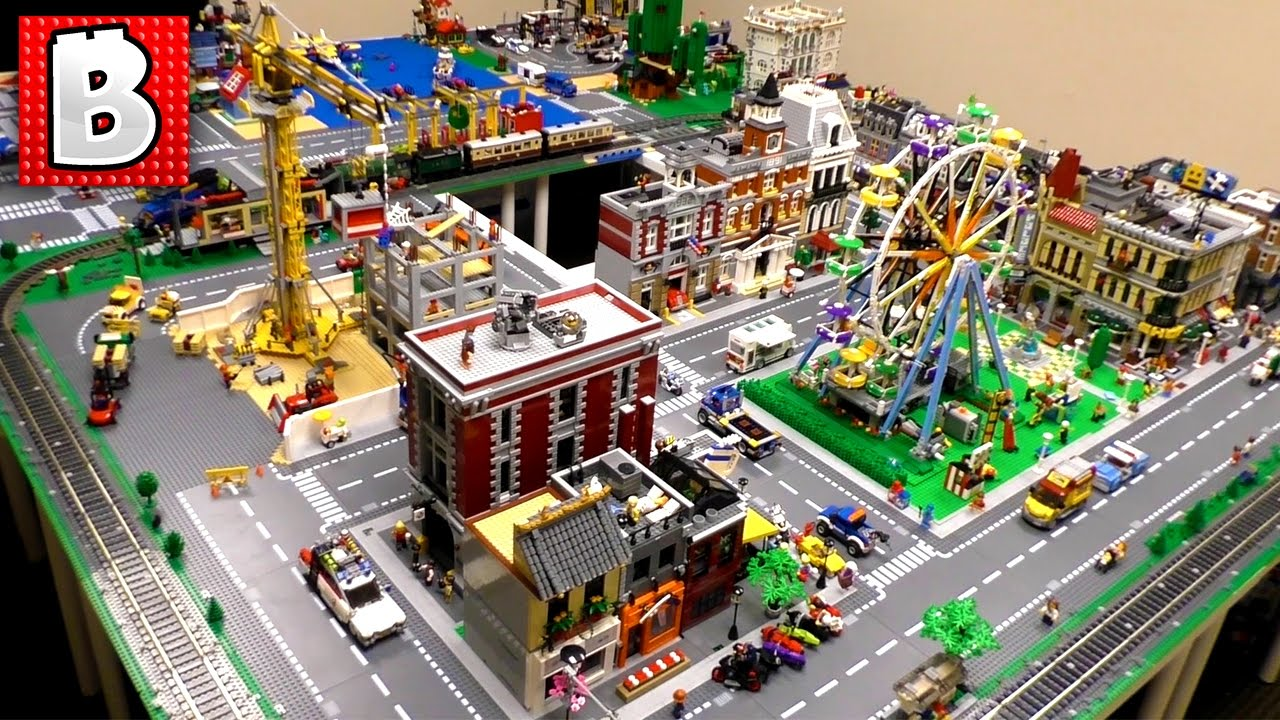 LEGO City Update! 4 New Structures & Baseplates!!! - YouTube