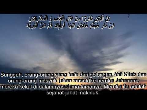 Al-Bayyinah dan terjemah