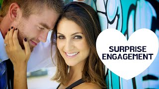 SURPRISE ENGAGEMENT | Hollywood Sign