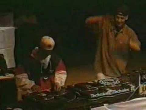 Dj Q-Bert & Mix Master Mike - Dmc 1995 World Finals