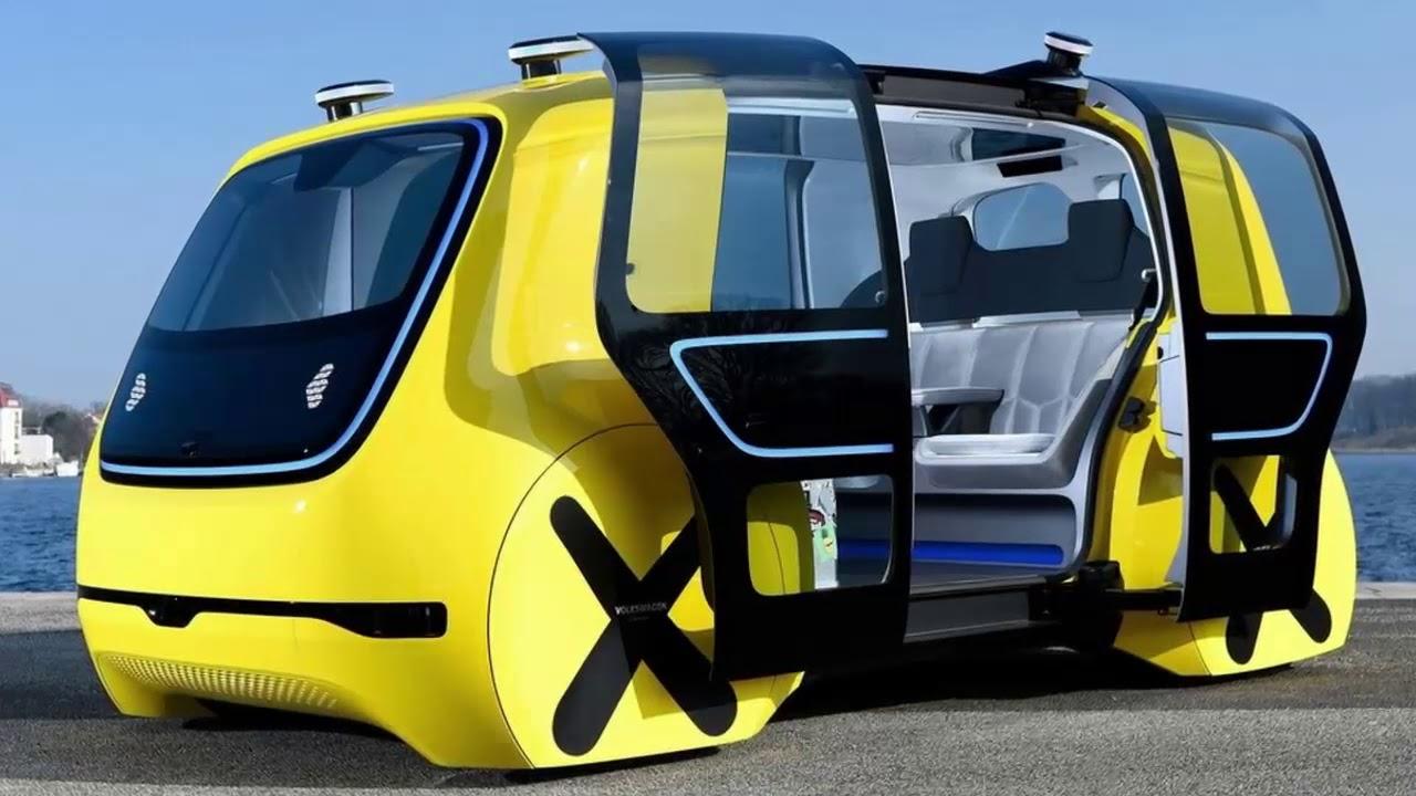 2019 Volkswagen Sedric School Bus Concept
