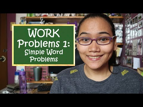 How to Solve Work Problems Part 1: Simple Work Problems - Civil Service Exam Review