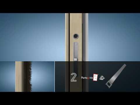 Porta scorrevole interno muro faidate interior sliding