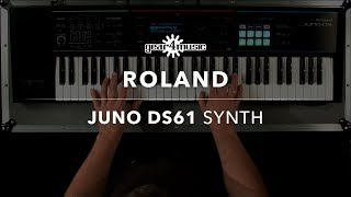 Roland Juno DS61 Synth (Sounds Only) | Gear4music Demo