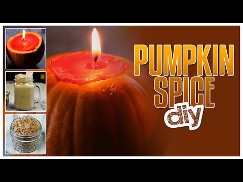 DIY Pumpkin Spice Candle, Body Scrub & Latte! - Do It, Gurl