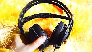 НЕРАЗРУШИМЫЕ НАУШНИКИ! - распаковка Plantronics RIG 515 HD Lava