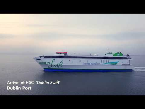 Dublin Swift enters service with Irish Ferries