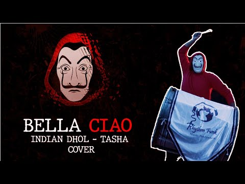 Bella Ciao Indian Dhol Tasha ( ढोल ताशा ) Cover    Money heist    @Rhythm Funk    2021