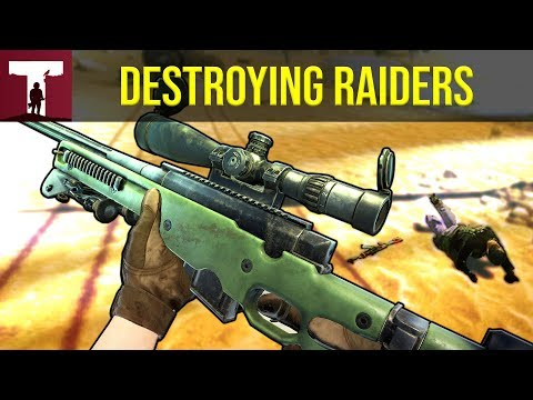 DESTROYING RAIDERS! (Rust)