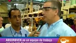 Fábrica de pañales en Guarenas