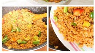 How to make perfect party jollof rice, tasty Nigerian party jollof rice