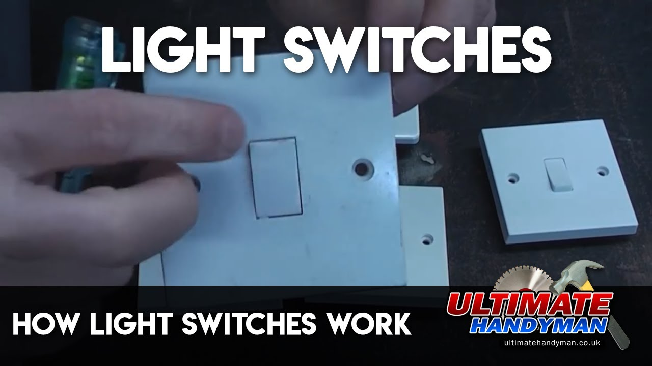 How light switches work - YouTube