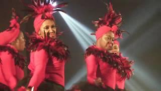 "Delta Sigma Theta Step Routine Inspired By Wakanda & ""Coming To America"""