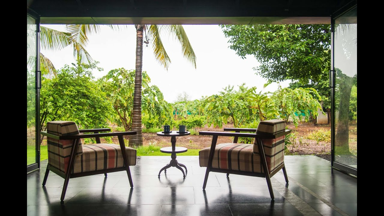 A Farmhouse In Karjat Designed To Coexist With Its Surroundings And Without Air Conditioning Youtube